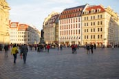 Thumbnail image of An der Frauenkirche square with old buildings, Dresden, Saxony, Germany