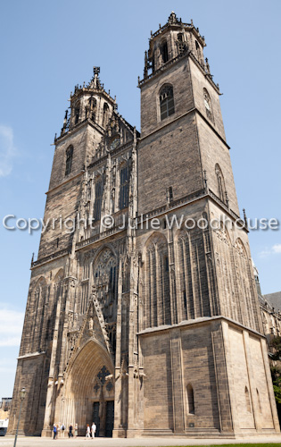 photo showing Cathedral, Magdeburg, Saxony Anhalt, Germany