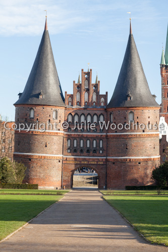 photo showing Holstentor, Luebeck, Schleswig-Holstein, Germany