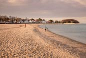 Travemuende Beach, Schleswig-Holstein, Germany