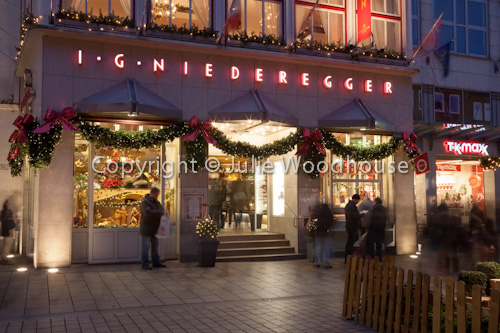 photo showing Niederegger Shop, Luebeck, Schleswig-Holstein, Germany