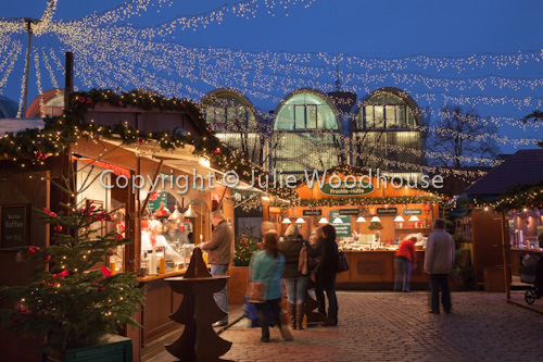 photo showing Christmas Market, Luebeck, Schleswig-Holstein, Germany