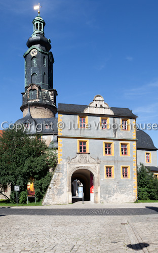 photo showing Town Palace, Weimar, Thuringia, Germany
