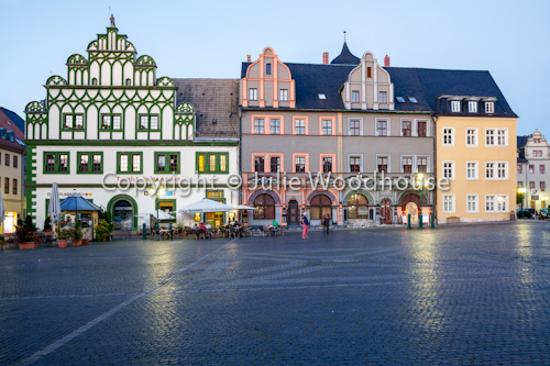 photo showing Marktplatz, Weimar, Thuringia, Germany