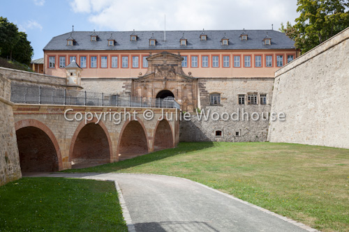 photo showing Zitadelle Petersberg, Erfurt, Thuringia, Germany