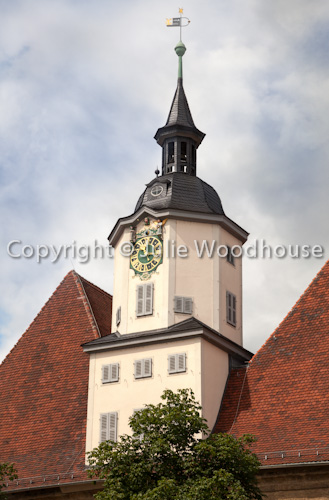 photo showing Rathaus Tower, Jena, Thuringia, Germany