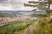 View From Jenzig Hill Over Jena, Thuringia, Germany
