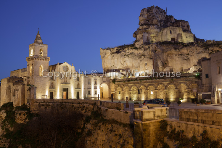 photo showing Church Of Santa Maria De Idris And San Giovanni In Monterrone, Matera, Basilicata, Italy
