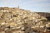 Thumbnail image of view over the town, Matera, Basilicata, Italy