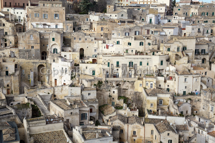 photo showing View Over Sasso Barisano, Matera, Basilicata, Italy