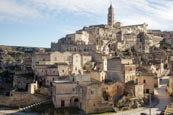 Thumbnail image of view over town from Convent of Saint Agostino, Matera, Basilicata, Italy