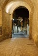 Thumbnail image of via Duomo, road in the old town Civita, Matera, Basilicata, Italy