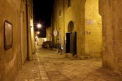 Thumbnail image of via San Potito street in the old town, Matera, Basilicata, Italy