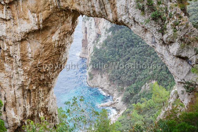 photo showing Natural Arch, Capri, Campania, Italy