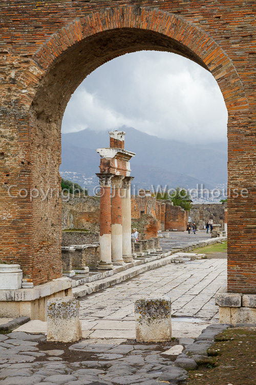photo showing Forum, Pompeii, Campania, Italy