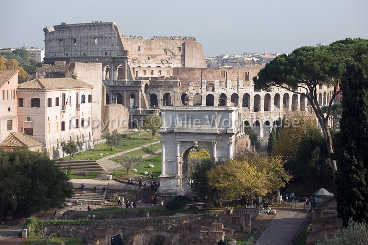photo showing The Roman Forum, Rome, Italy