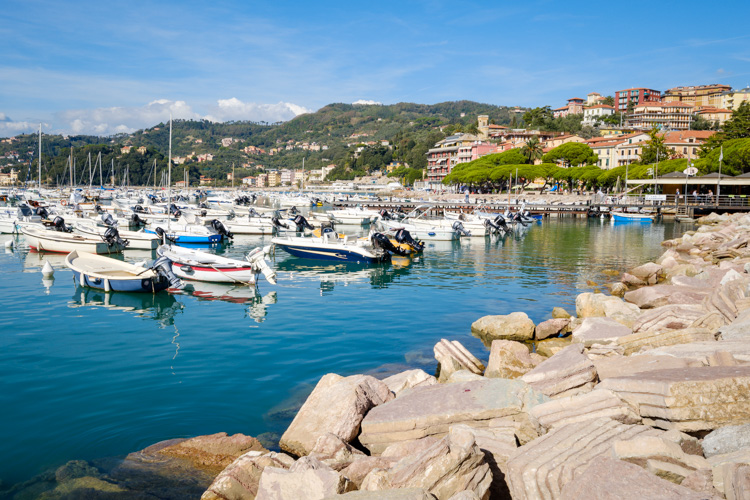 photo showing Lerici On The Gulf Of La Spezia, Liguria, Italy
