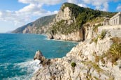 Coastline At Porto Venere From The Byron Grotto, Porto Venere, Liguria, Italy