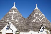 Thumbnail image of Typical trulli in Alberobello, Puglia, Italy