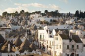 Thumbnail image of View over the trulli in the Rione Monti district of 