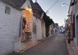 Thumbnail image of street in the trulli district Rione Monti in Alberobello, Puglia, Italy