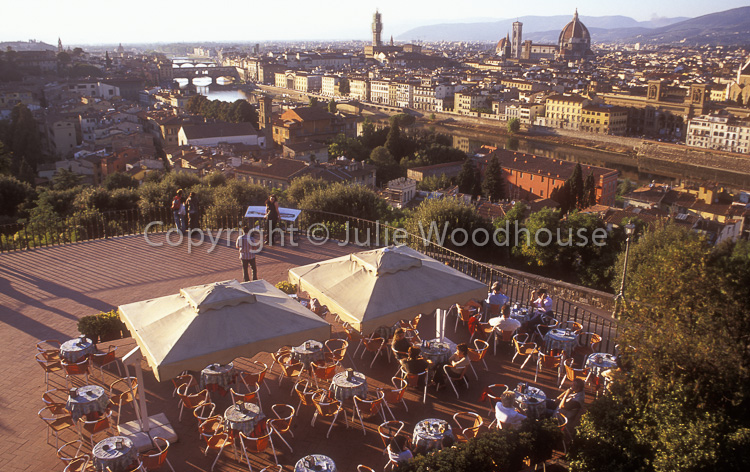 photo showing Piazzale Michelangelo, Restaurant And View, Florence