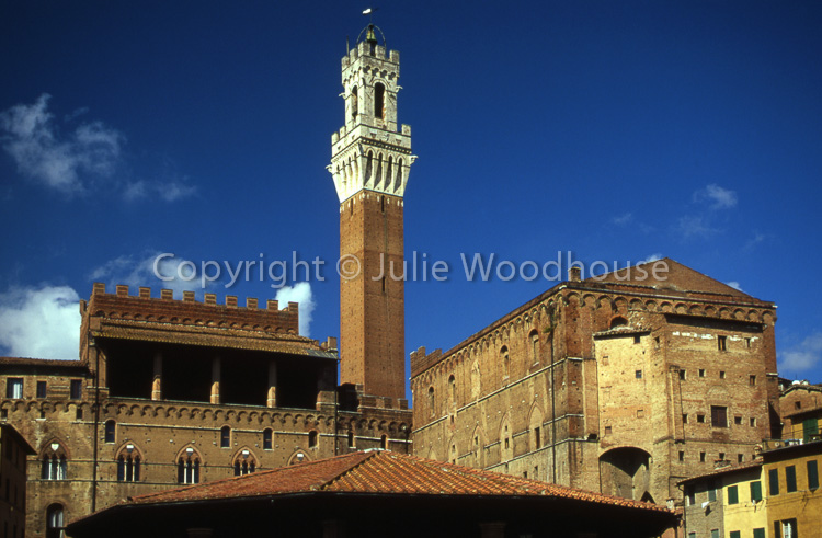 photo showing Torre Del Mangia & Palazzo Publico, Siena