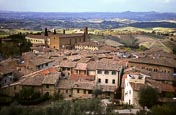 Thumbnail image of view over San Gimignano