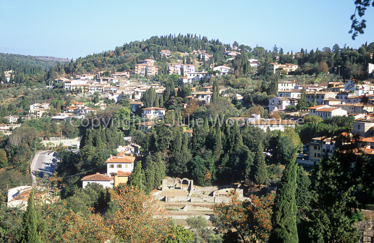 photo showing Fiesole With Roman Baths, Florence