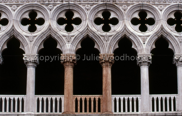 photo showing Doges Palace, The Fatal Pillars, Venice