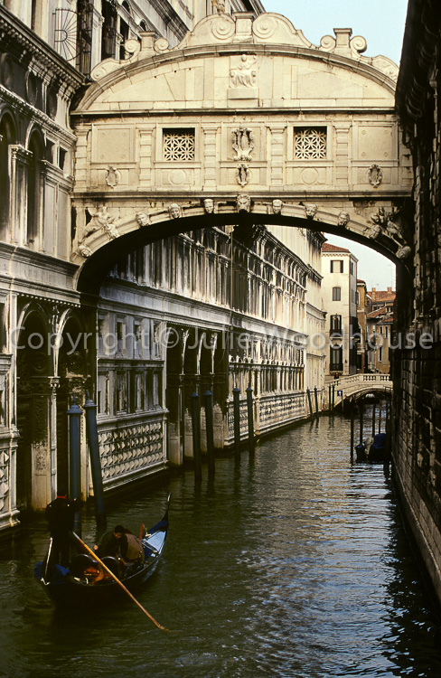 photo showing Bridge Of Sighs, Venice, Italy