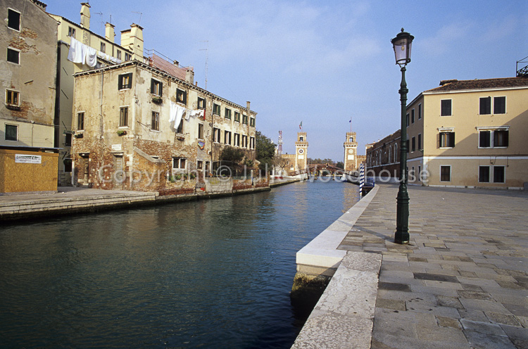 photo showing Rio Dell' Arsenale, Venice