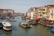 Thumbnail image of Grand Canal from the Rialto Bridge, Venice, Veneto, Italy