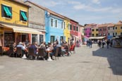 Rio Terra Del Pizzo With Ourdoor Restaurants And Coloured Houses