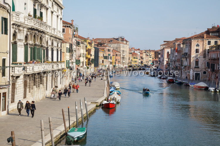 photo showing Fondamenta Cannaregio, Venice, Veneto, Italy