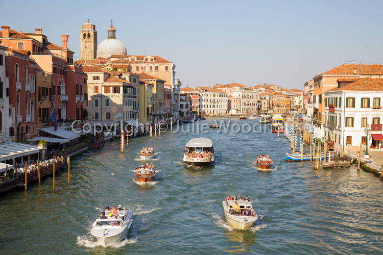 photo showing Grand Canal From Ponte Degli Scalzi, Venice, Veneto, Italy