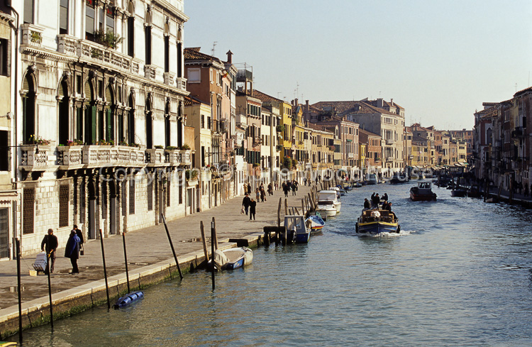 photo showing Fondamenta Di Cannaregio / Canale Di Cannaregio, Venice, Italy