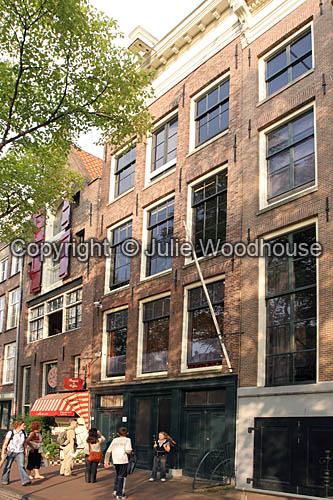 photo showing Anne Frank House, Amsterdam