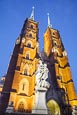 Thumbnail image of Cathedral of St. John the Baptist with Statue of Mary and Child, Wroclaw, Poland