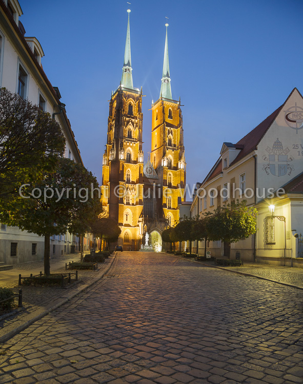 photo showing Cathedral Of St. John The Baptist On Plac Katedralny Cathedral Platz On Cathedral Island Ostrów Tums