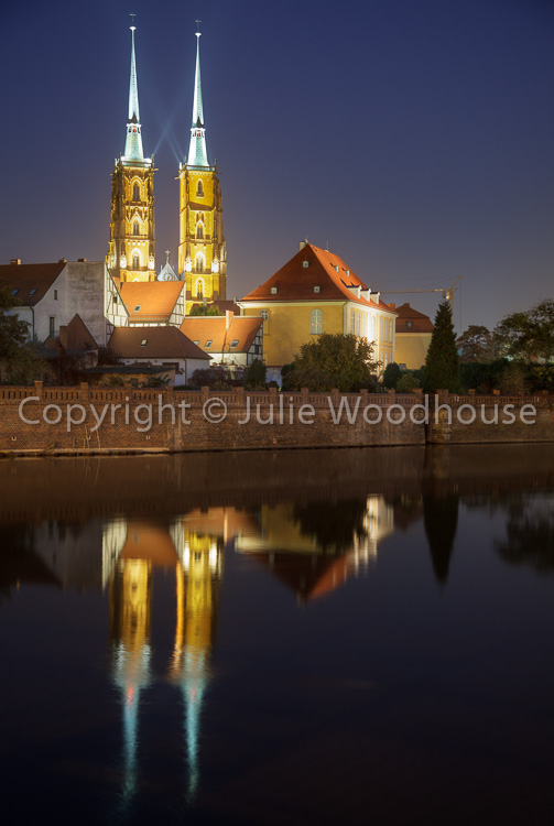 photo showing Cathedral Island Ostrow Tumski, Wroclaw, Poland