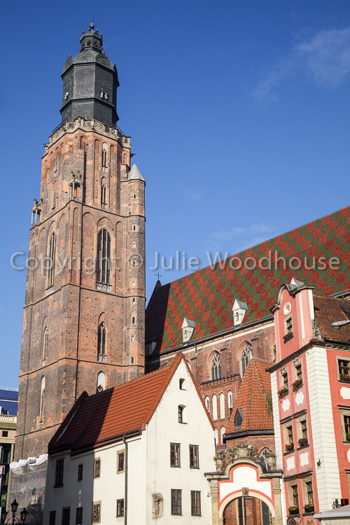 photo showing St. Elizabeth's Church Of The Catholic Third Order Of Saint Francis, Wroclaw, Poland