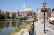 Zgorzelec With View Back To Goerlitz, St Peter And Paul Church, Waidhaus And The Altstadt Bridge, Zg