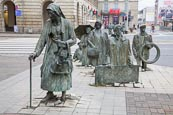 Thumbnail image of Monument to the Anonymous Pedestrians by Jerzy Kalina, Wroclaw, Poland