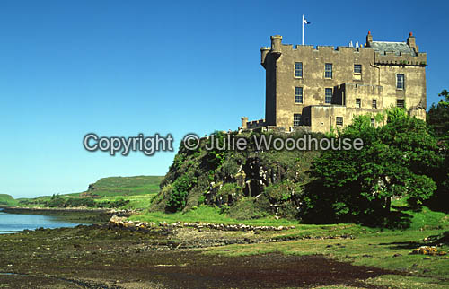 photo showing Dunvegan Castle, Skye, Scotland