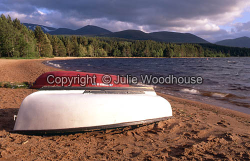 photo showing Loch Morlich, The Cairngorms, Scotland