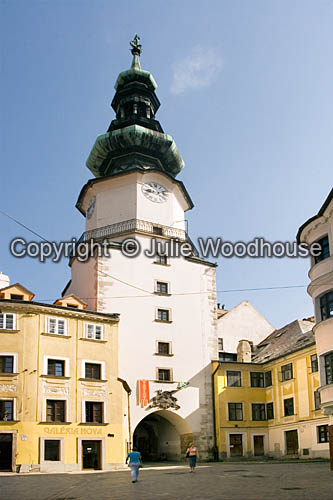 photo showing St. Michael's Tower, Bratislava