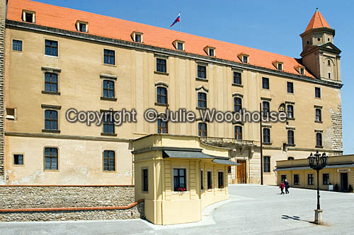 photo showing Bratislava Castle