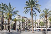 Thumbnail image of Placa Reial, Barcelona, Catalonia, Spain