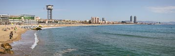 Thumbnail image of Barceloneta Beach, Barcelona, Catalonia, Spain